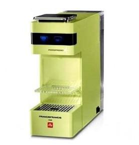 Macchina Espresso ILLY Y3 Lime +18Capsule Omaggio