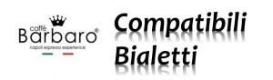 3 Capsule Barbaro Compatibili Bialetti Alluminio