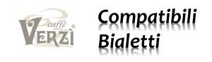 2 - Capsule Verzi Compatibili Bialetti Alluminio