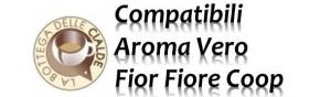 Capsule La Bottega delle Cialde Compatibili Fior Fiore AromaVero